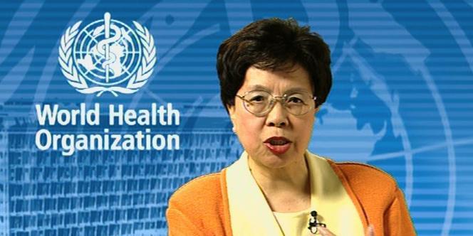 La directrice de l'Organisation mondiale de la santé, Margaret Chan.