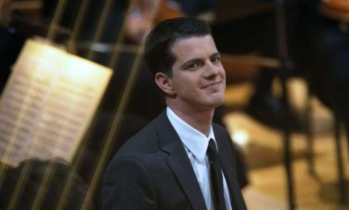 Le contre-ténor Philippe Jaroussky lors des Victoires de la musique classique à Metz, en février 2009.
