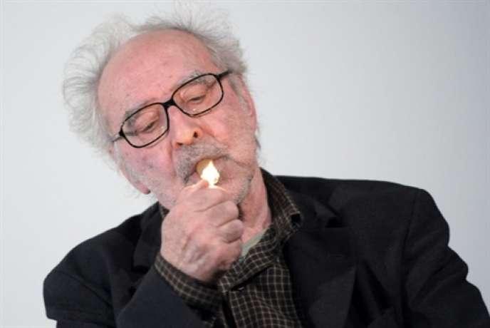 Jean-Luc Godard en 2010.