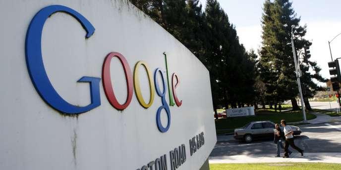 Le siège de Google, à Mountain View en Californie.