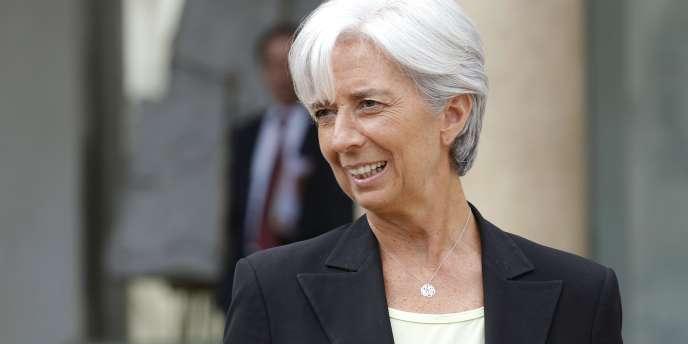 Christine Lagarde, en juillet 2010 à Paris.