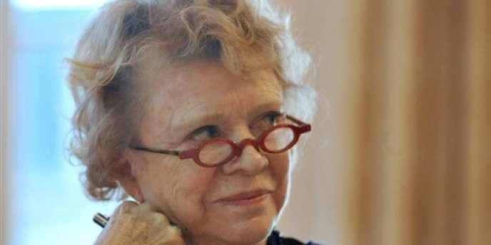 Eva Joly, à Rouen le 5 mars 2010.