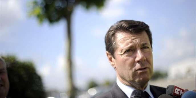 Le maire de Nice, Christian Estrosi, le 27 juillet 2010.