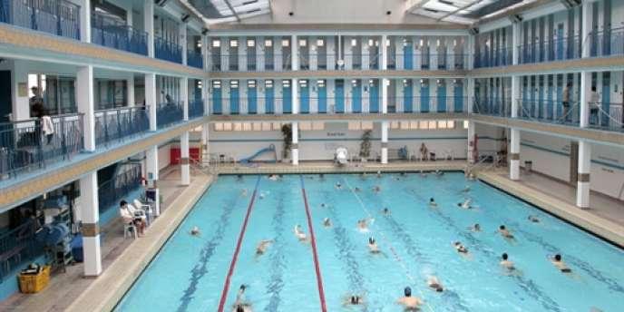 La piscine Pontoise, dans le 5e arrondissement de Paris.