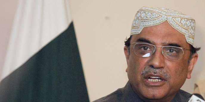 Le président pakistanais, Asif Ali Zardari.