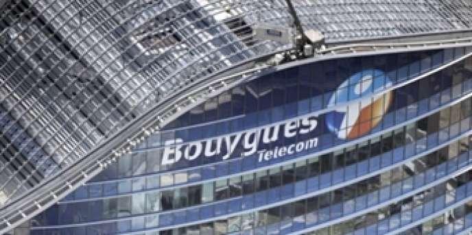 Le siège de Bouygues Telecom à Issy-les-Moulineaux (Hauts-de-Seine).
