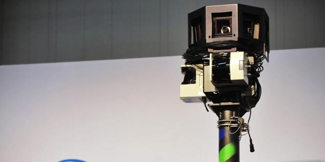 Une caméra panoramique utilisée par les voitures Google pour collecter les photos servant à alimenter Street View.