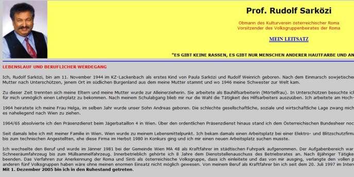 Le blog de Rudolf Sarközi, qui a reçu de l'Etat autrichien le titre honorifique de