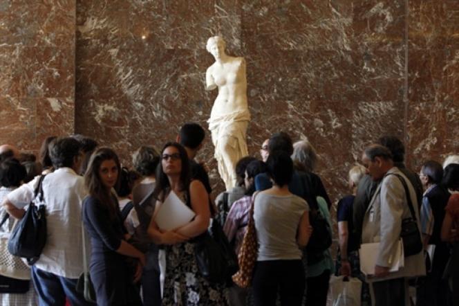 La Vénus de Milo, au Louvre. L'utilisation marchande des oeuvres d'art par le musée est jugée