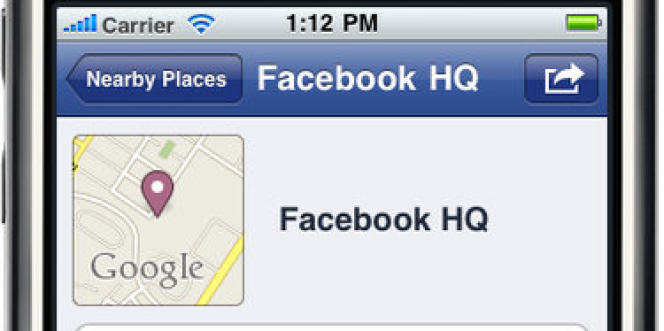 Le service Facebook