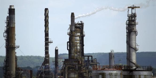 La raffinerie Exxon-Mobil de Port-Jérôme, en Normandie.