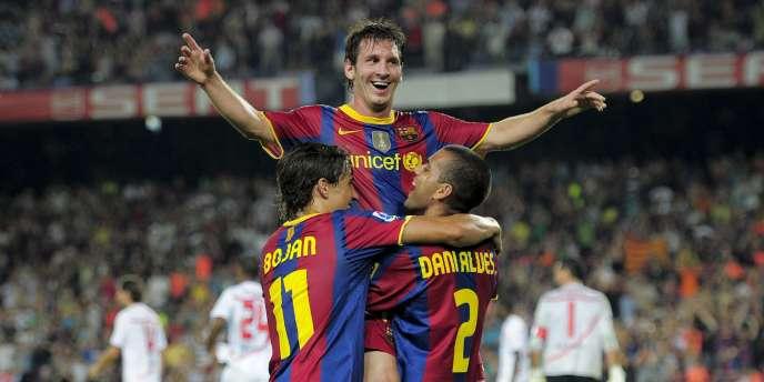 Messi et ses coéquipiers ont fait du FC Barcelone le chouchou du continent.
