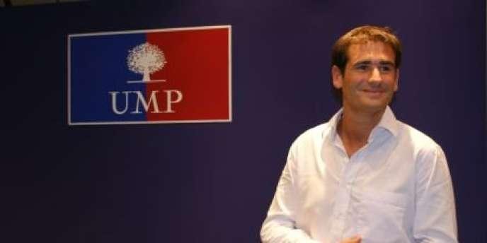 Le président des Jeunes Populaires, Benjamin Lancar.