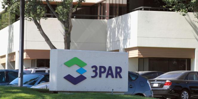 Le siège de 3PAR, à Fremont, en Californie.