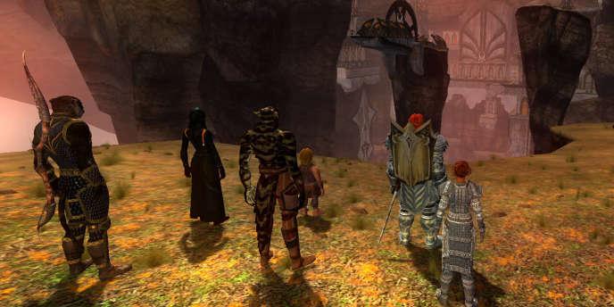 Des joueurs en ligne d'EverQuest 2.