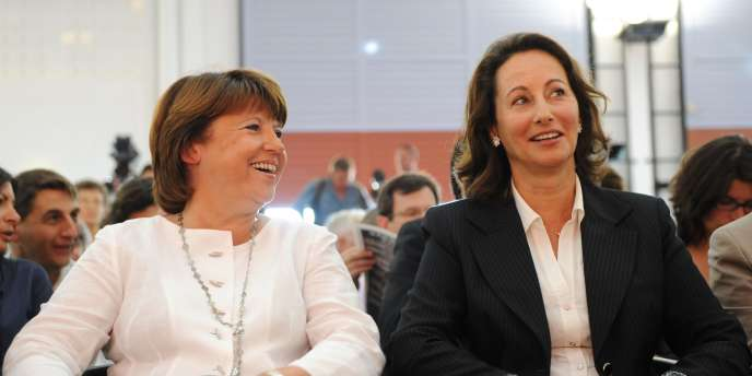 Martine Aubry et Ségolène Royal en août 2010.