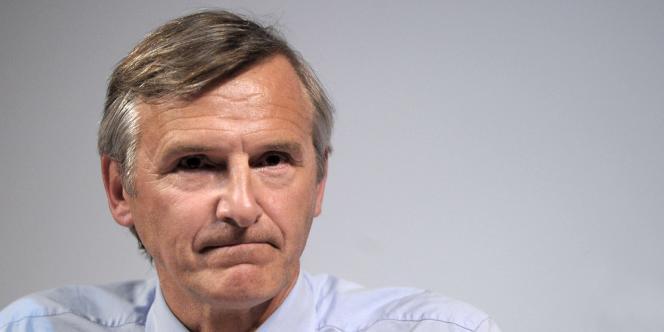 Dominique Dord, député de Savoie et trésorier de l'UMP.