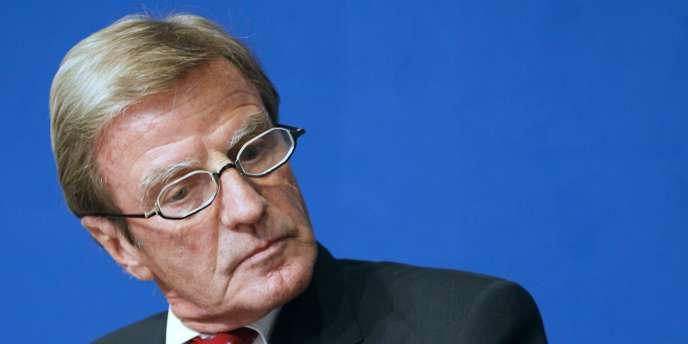 Bernard Kouchner, l'ancien ministre des affaires étrangères, le 27 août à Paris.