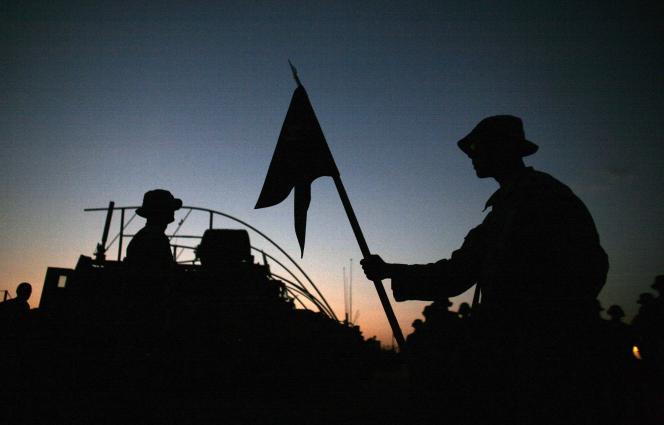 Les effectifs de l'armée américaine en Irak sont passés sous la barre symbolique des 50 000 soldats, contre 170 000 au plus fort des violences confessionnelles de 2007.