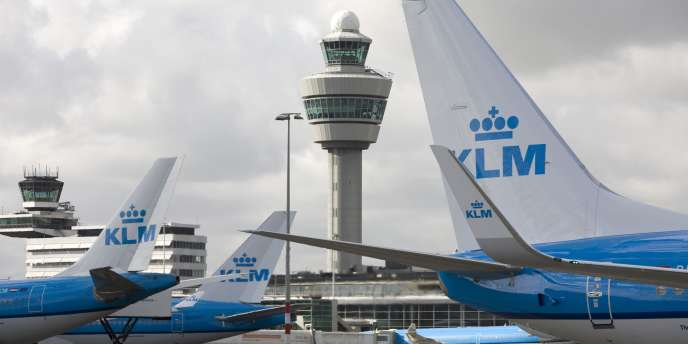 L'aéroport Schiphol d'Amsterdam, aux Pays-Bas.