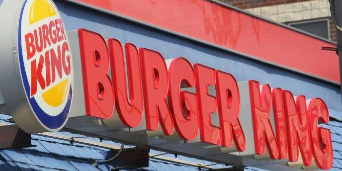 Un restaurant Burger King à Chicago.