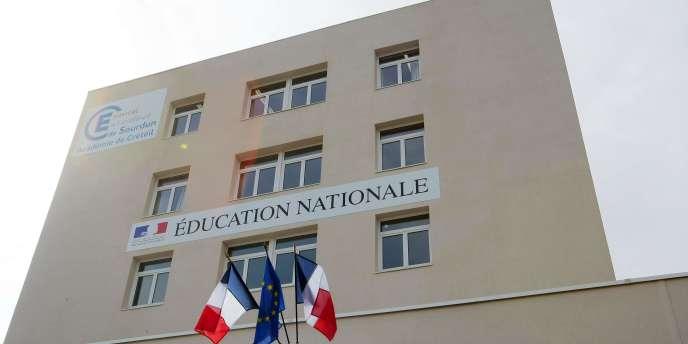 Internat d'excellence de Sourdun, en Seine-et-Marne.
