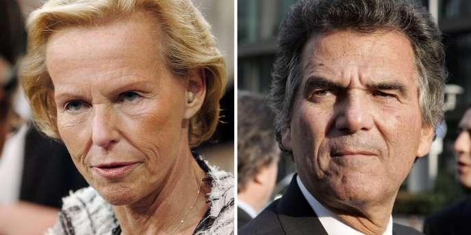 Christine Ockrent et Alain de Pouzilhac, respectivement directrice générale déléguée et PDG de la chaîne France 24, se livrent une guerre de position tout en faisant face à la défiance de leurs salariés.