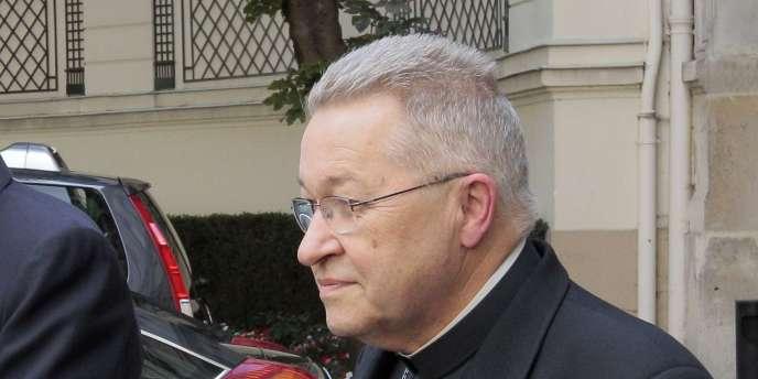 Mgr André Vingt-Trois, en 2010.