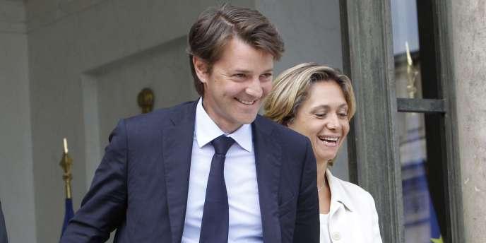 Le ministre de l'économie et des finances, François Baroin, et la ministre du budget, Valérie Pécresse (ici, en août 2010).