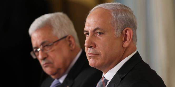 Mahmoud Abbas et Benyamin Nétanyahou, à Washington, le 1er septembre 2010.