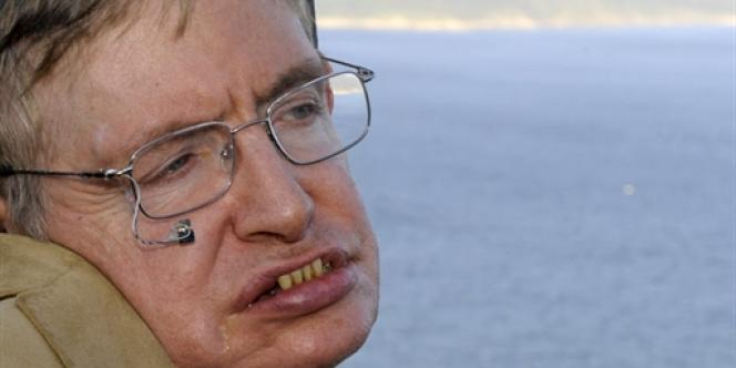 Stephen Hawking, en septembre 2008.