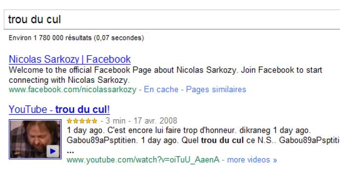 La page Facebook de Nicolas Sarkozy est victime depuis quelques jours d'un