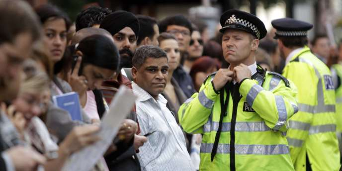 Grève dans le métro londonien en 2010.