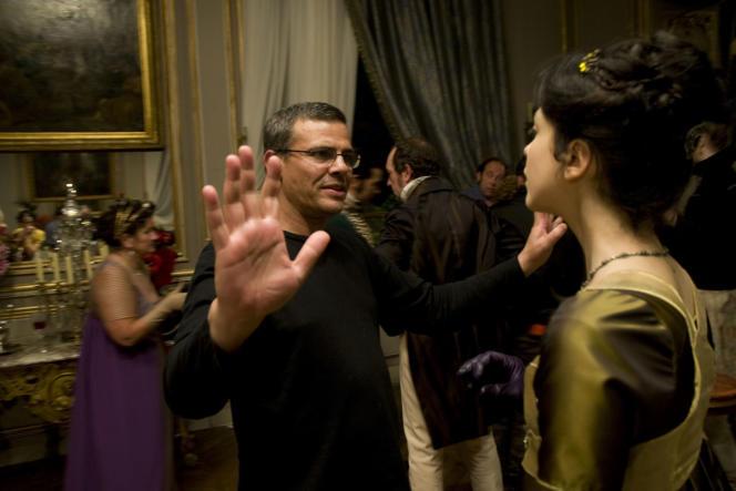 Le réalisateur Abdellatif Kechiche sur le tournage de son film,