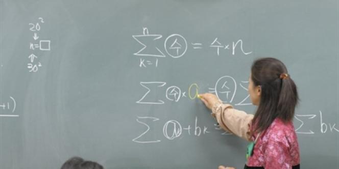 Selon les chiffres officiels publiés mardi 29 avril, la moitié des postes n'ont pas été pourvus lors de la séance exceptionnelle 2014 du concours externe du Capes en mathématiques, déjà considérée comme l'une des disciplines «déficitaires» depuis plusieurs années.