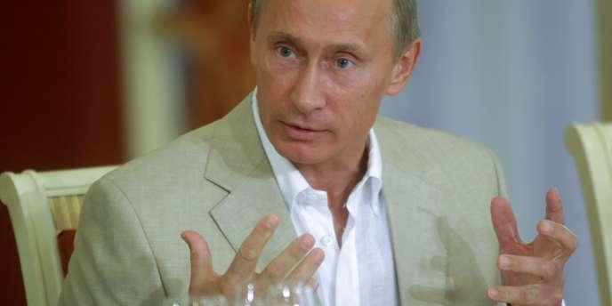 Le premier ministre russe Vladimir Poutine, le 6 septembre 2010.
