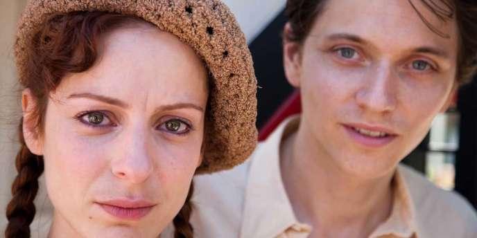 Audrey Dana et Raphaël dans le film français de Claude Lelouch,