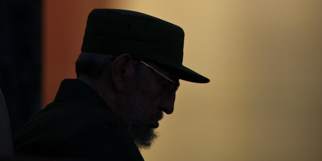 Fidel Castro donnant un discours, le 3 septembre 2010, à La Havane.