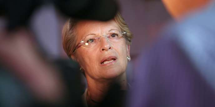 Michèle Alliot-Marie en août 2010.