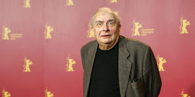 Claude Chabrol en 2006, à la sortie de