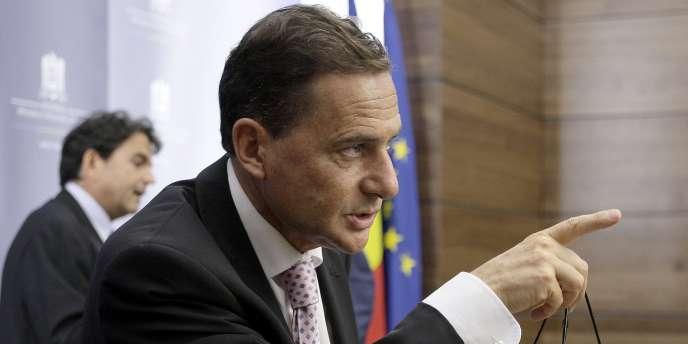 Le ministre de l'industrie, de l'énergie et de l'économie numérique, Eric Besson.
