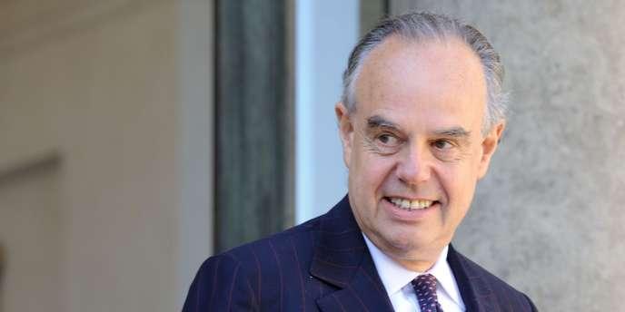 Le ministre de la culture et de la communication, Frédéric Mitterrand, à Paris, le 1er septembre 2010.
