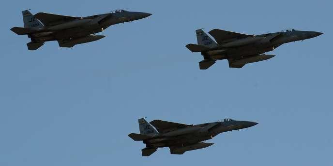 Un vol de F-15 en Géorgie, le 4 septembre 2010.