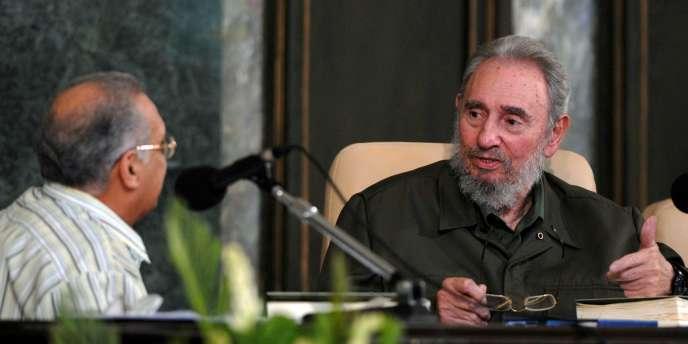 Fidel Castro, en 2010.
