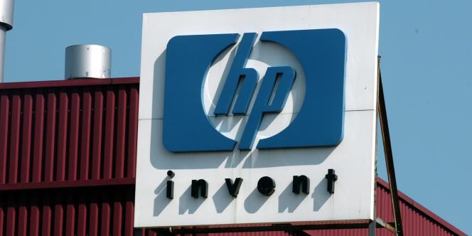 Le logo de l'entreprise Hewlett-Packard.