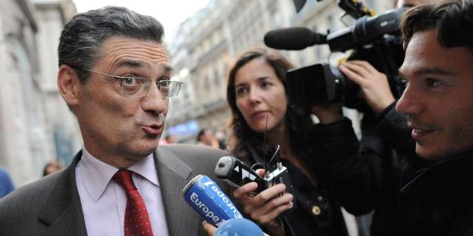 Patrick Devedjian, président du conseil général des Hauts-de-Seine.