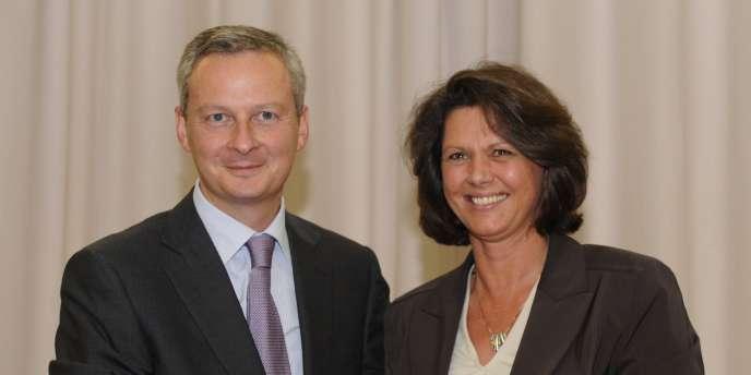 Le ministre français de l'agriculture, Bruno Le Maire, et son homologue allemande, Ilse Aigner, ont, mardi 14 septembre à Berlin, paraphé une