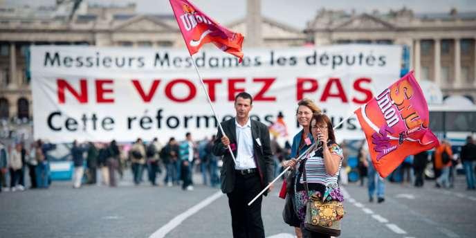 Les syndicats ne sont pas considérés comme des acteurs importants de la démocratie française.