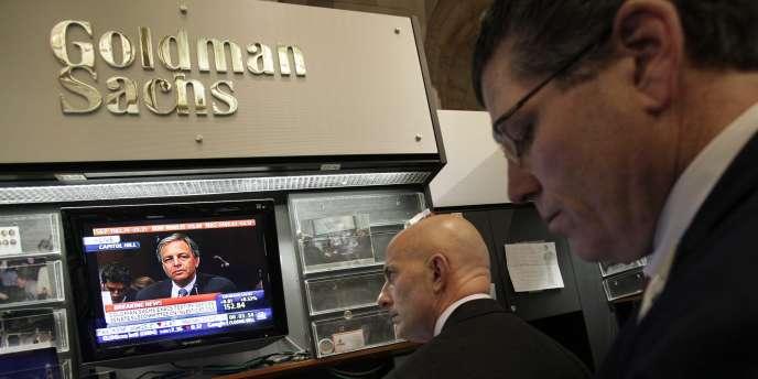 Ed Canaday, porte-parole de Goldman Sachs, n'a pas souhaité faire de commentaires.