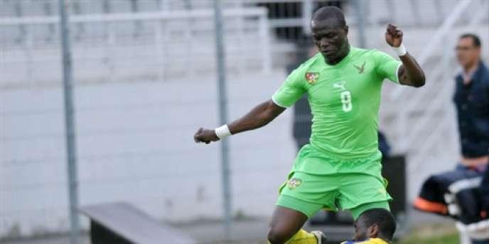 Le Togolais Toure Assimiou, sous les couleurs de son équipe nationale, n'a pas participé au match à Bahreïn. Pas plus que les autres Eperviers.